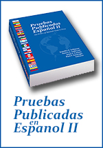 resource to test Spanish speakers PPEII