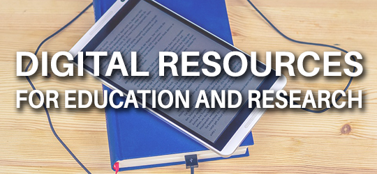 promotion of digital resources