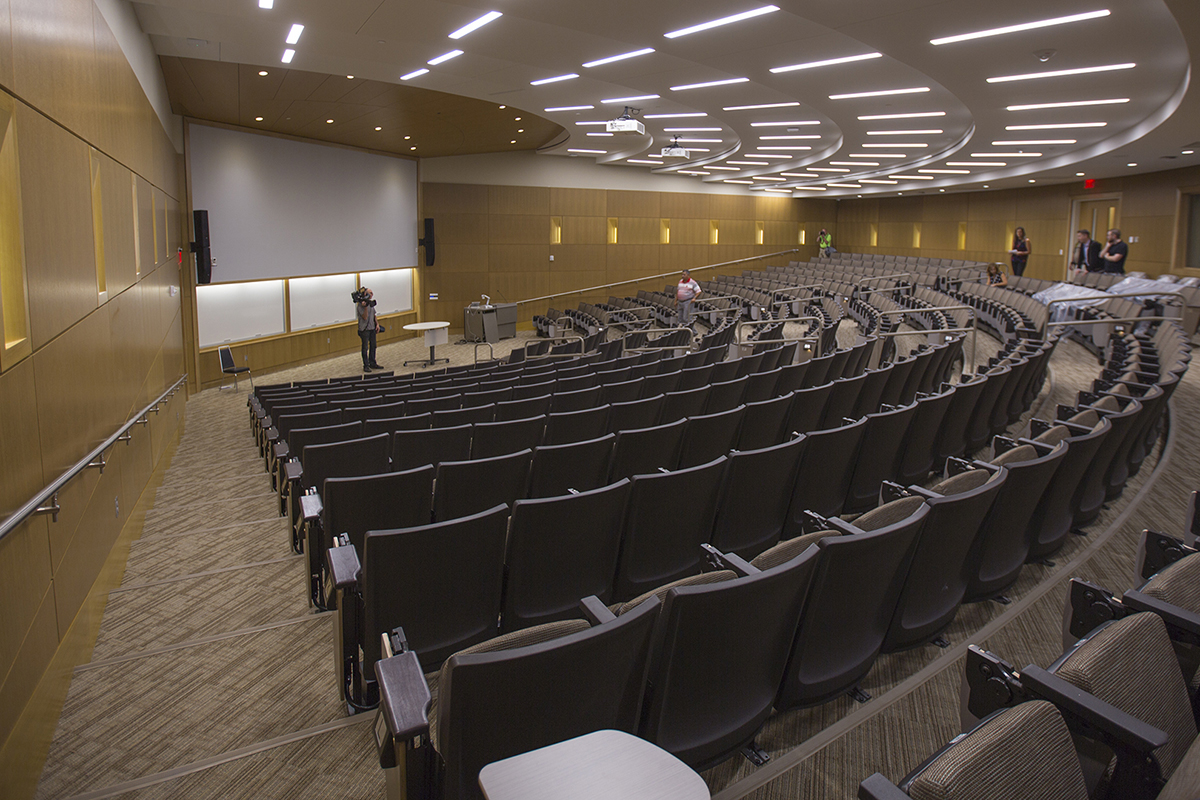 Hawks Hall lecture hall