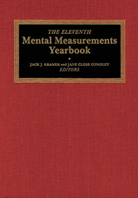 The Eleventh Mental Measurements Yearbook