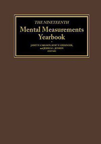 The Nineteenth Mental Measurements Yearbook