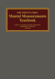 Mental Measurement Yearbook 21st Edition Cover