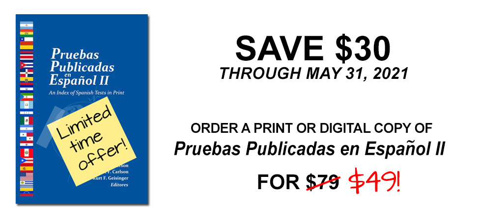 Sale on Spanish Tests Resource