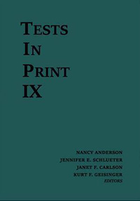 Tests In Print IX